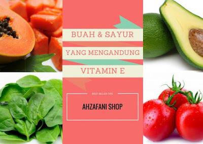 Buah dan sayur yang mengandung Vitamin E