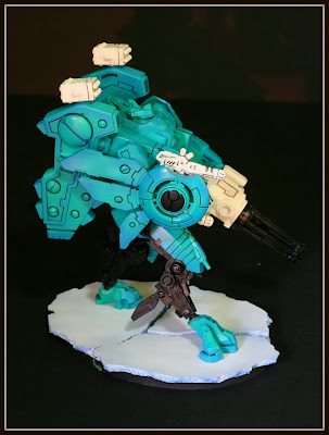 Tau Riptide shield