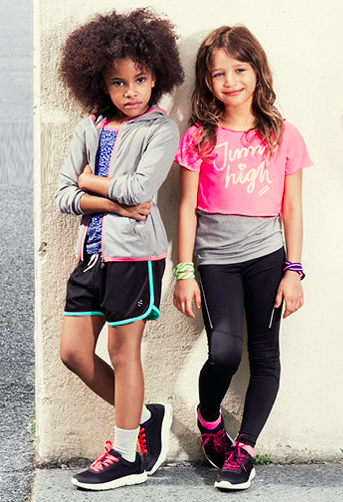 #ropadeportiva #modaniña #hmniños #sportygirls #pequeñafashionista