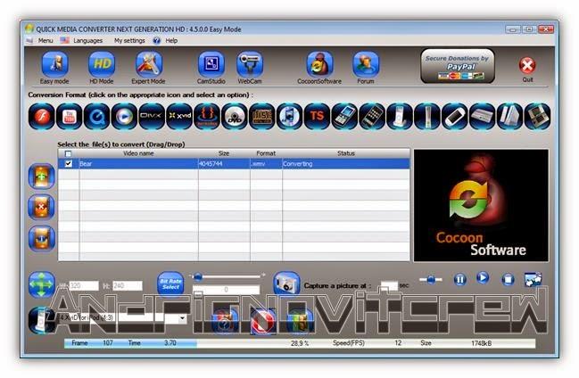 Software Video Converter Gratis Terbaik Terpopuler 2017 Quick Media Converter HD 4.8.0.0