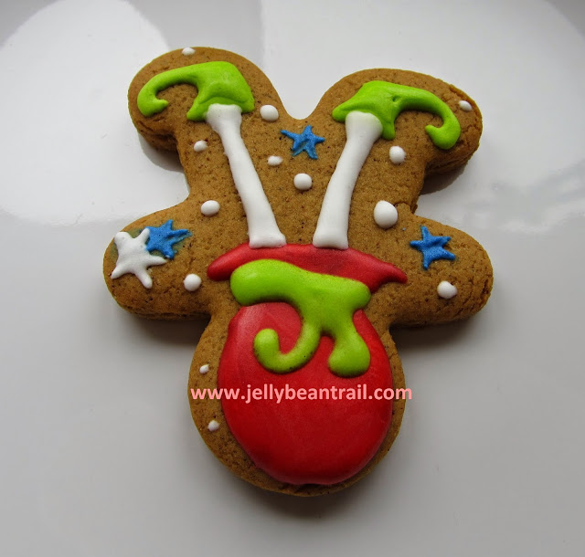 Santa sac Christmas helper elf gingerbread cookies