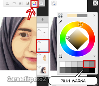 Membuat foto vector di android