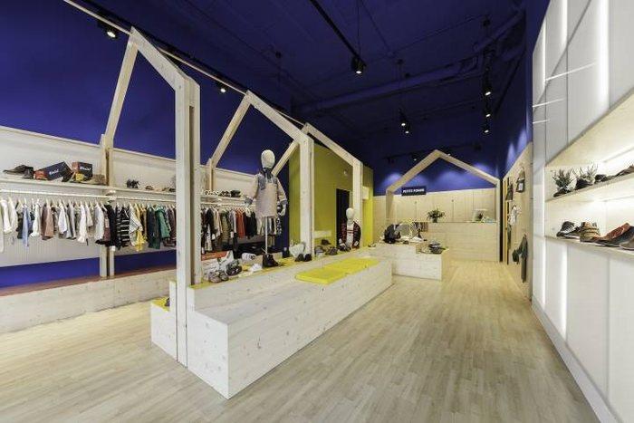 thiết kế thi công nội thất shop thời trang