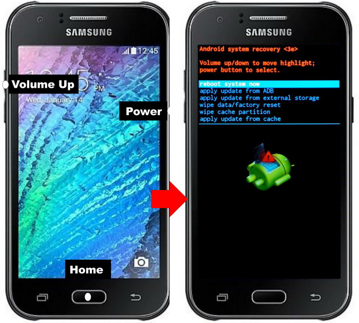 Cara Mengatasi Samsung Galaxy J1 Bootloop Ampuh Semua Varian