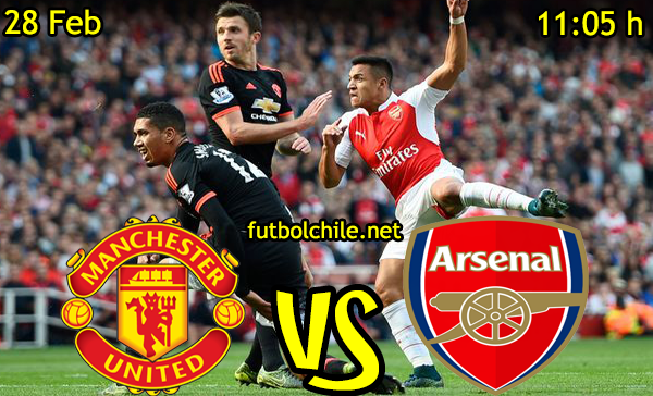 VER STREAM EN VIVO, ONLINE: Manchester United vs Arsenal