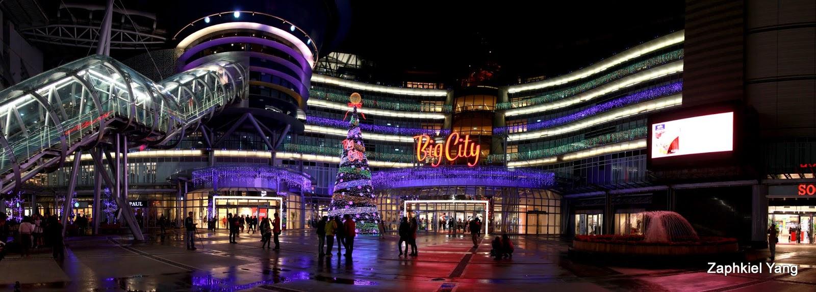 【新竹 北區】巨城百貨聖誕樹夜景