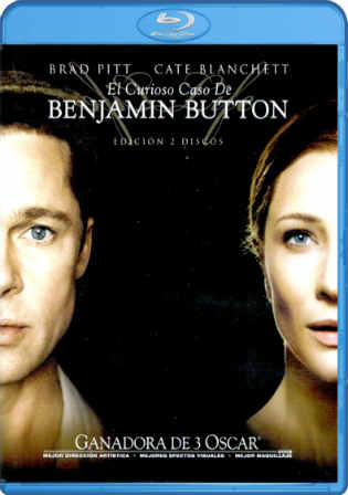 The Curious Case of Benjamin Button 2008 BRRip 350MB Hindi Dual Audio 480p Watch Online Full Movie Download bolly4u