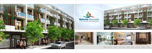Thiết kế khu nhà vườn dự án Gelexia Riverside