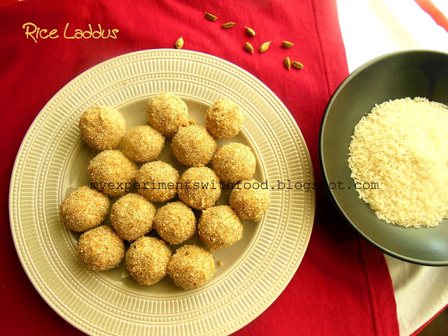 Rice Laddus/ Ari Unda