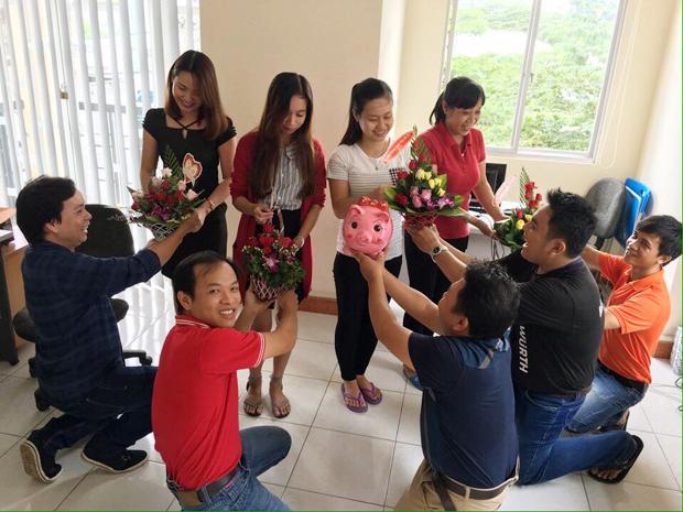Những Bóng Hồng FPT Trong Ngày Phụ Nữ Việt Nam 8 -3 3