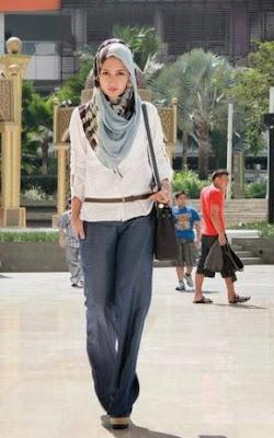 Contoh Model Baju Muslim Modis Dan Stylish Untuk Kuliah