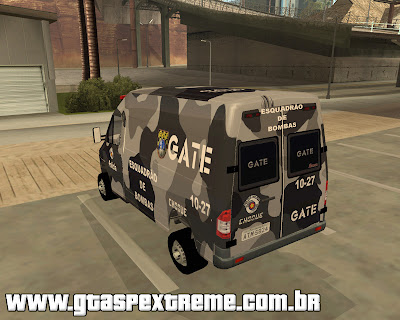 MB Sprinter GATE para grand theft auto