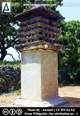 The pigeon nest, Delft Island, Sri Lanka