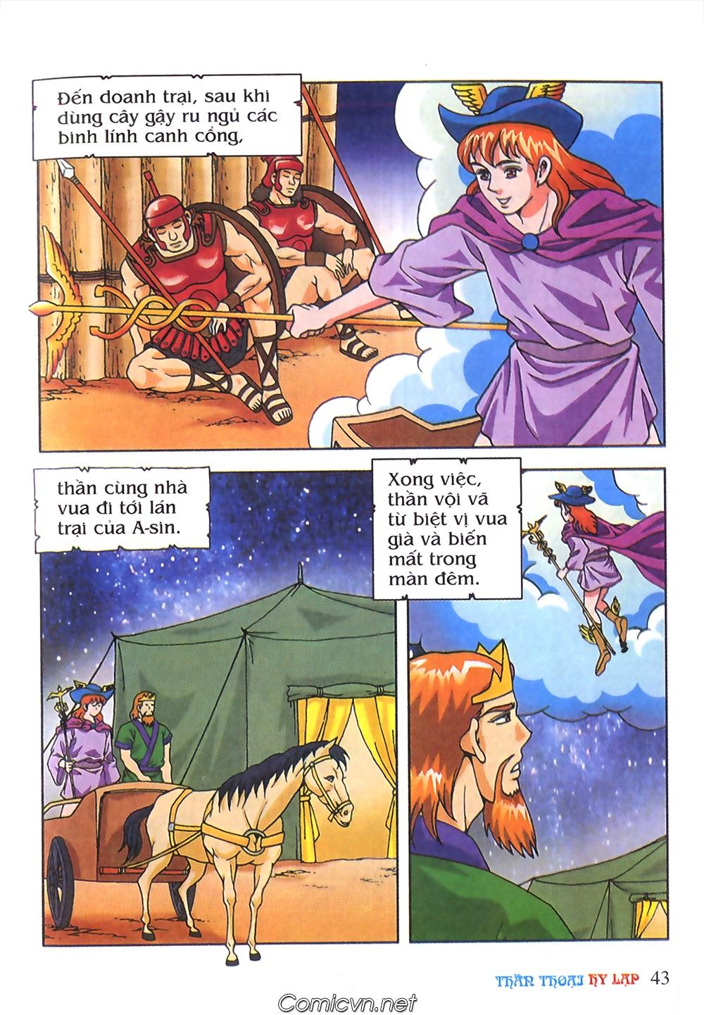Thần Thoại Hy Lạp Màu - Chapter 63: Lão vương Pri am chuộc xác con - Pic 17