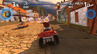 Beach Buggy Racing juegos Windows 10 parte 3