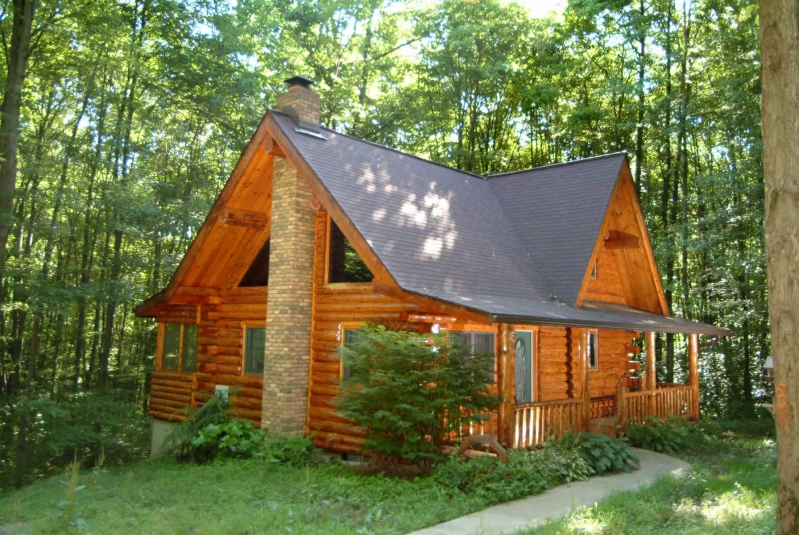 chocolate break beautiful cabin in the woods. Black Bedroom Furniture Sets. Home Design Ideas