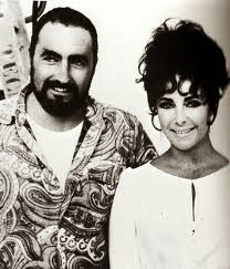 Elizabeth Taylor On The Set With Martha Maggie The Cat