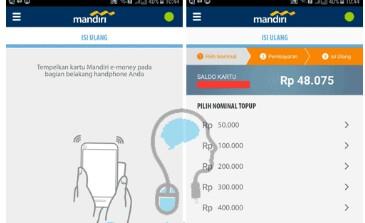Cek Saldo e- Money Mandiri Via Handphone Begini Caranya