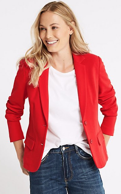 Marks & Spencer Single Breasted Blazer