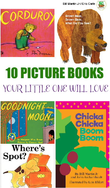 10 Picture Books your Little One Will LOVE!!!