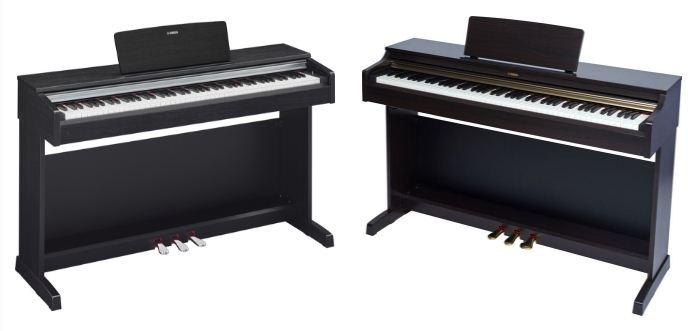 Đàn Piano điện Yamaha YDP 162 và YDP 142
