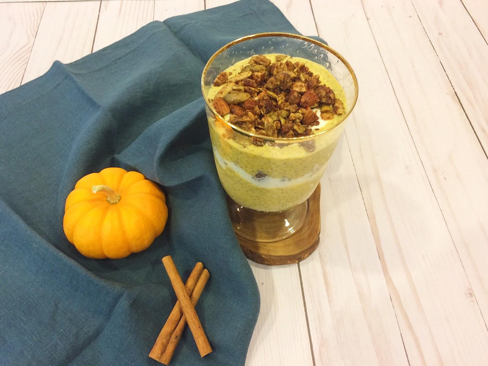 Healthy, Chia Pudding Recipe, Pumpkin Pie Spice