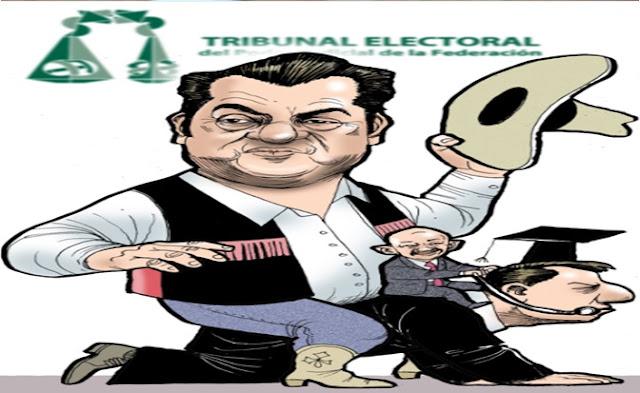 Tribunales, corrupción, pri