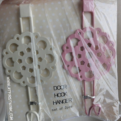 3Coins Japan flowery door hook hangers