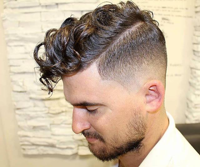 cortes de pelo masculino, hairstyles, pelo rizado, corte y peinado, look masculino, tendencias corte de pelo