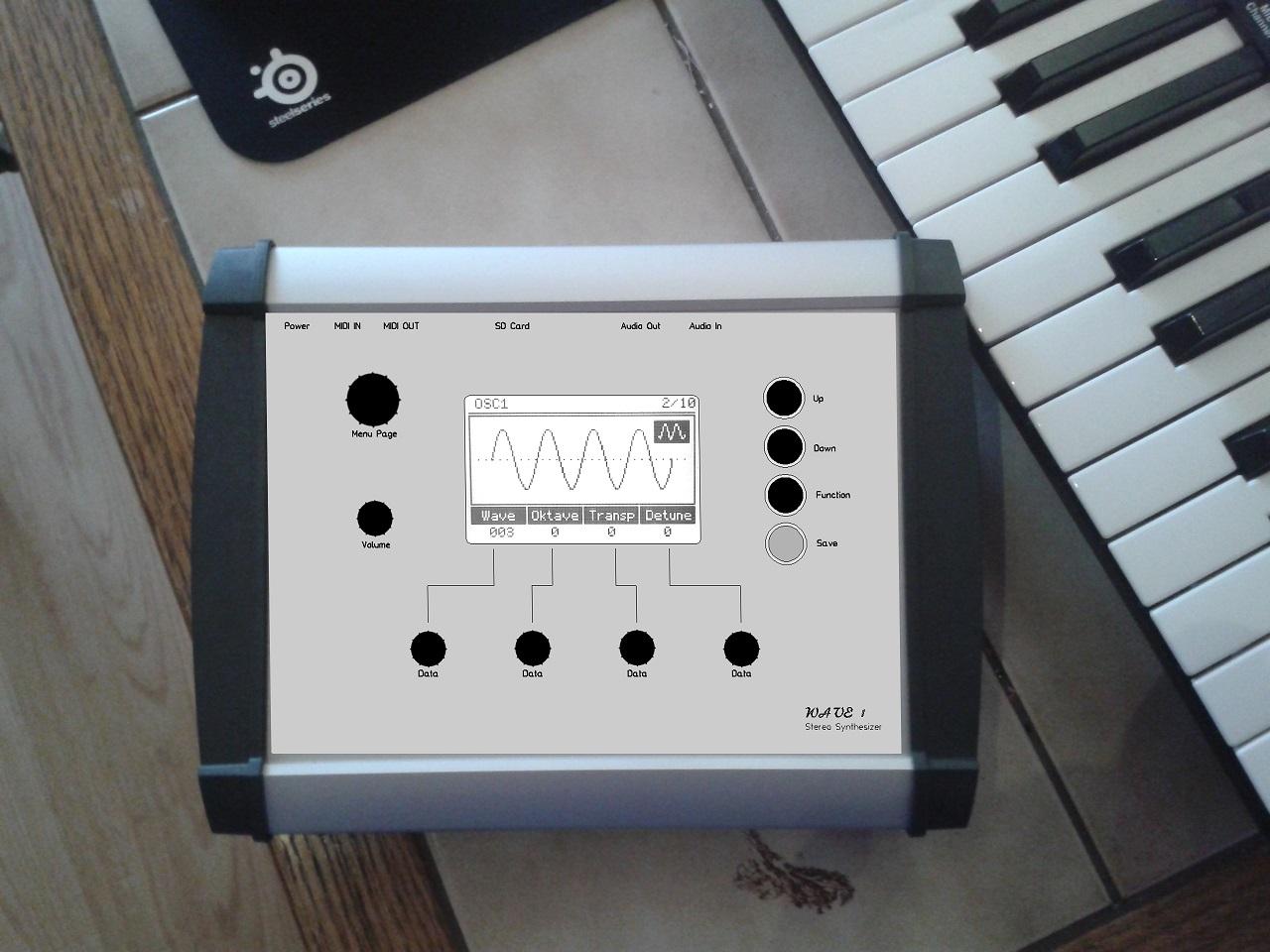 My digital DIY Synthesizer