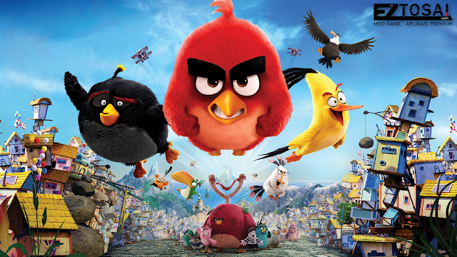 Game Angry Birds Mod Apk Unlimited Money Plus Boosters Terbaru