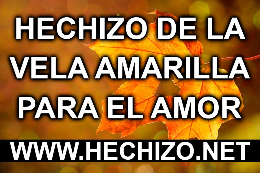 Hechizo de la Vela Amarilla para el Amor