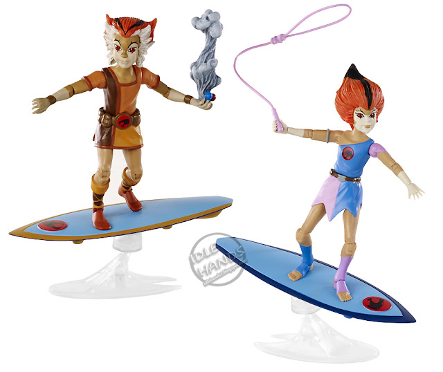 san diego comic-con 2016 mattel exlcusive THUNDERCATS WILY KIT and WILY KAT