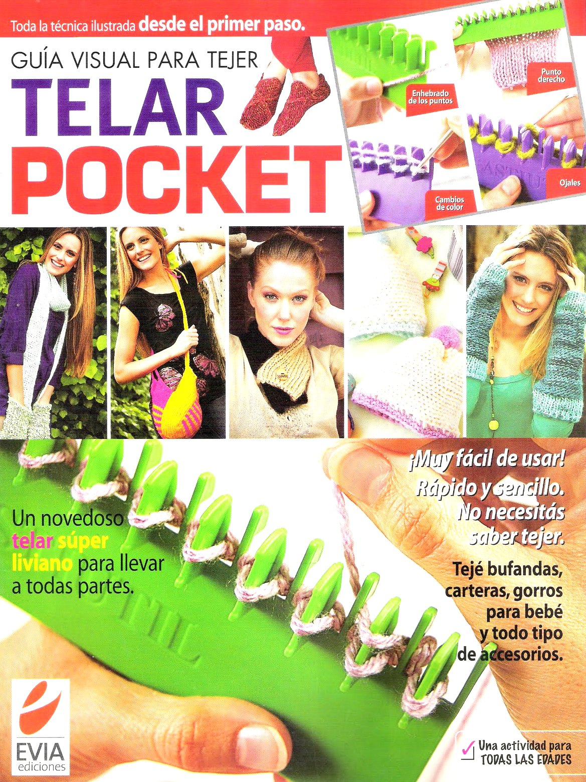 Revista telar pocket peine doble
