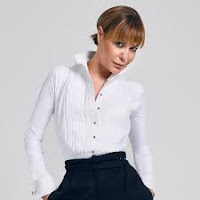 Image showing the late Tara Palmer-Tomkinson in one of her shirted bodysuits