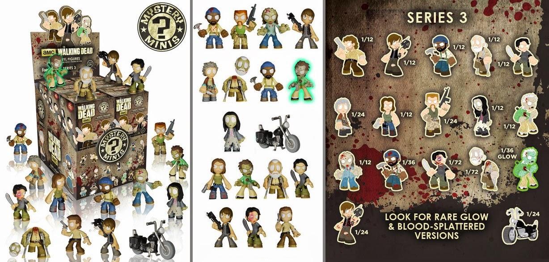 Walking Dead Series 3 Mystery Minis