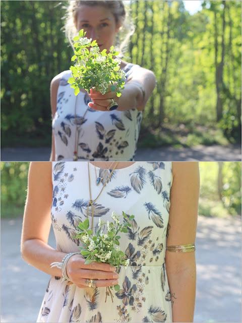 Hochzeitskleid bei Bloggerin Mona von Fleur et Fatale