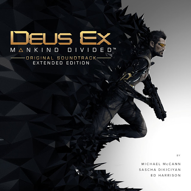 Label Deus Ex Mankind Divided OST Extended Edition