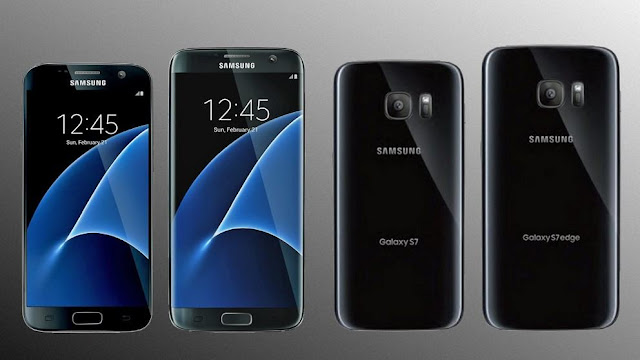 samsung Galaxy s7 front and back