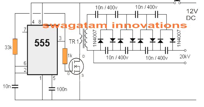 stun gun circuit