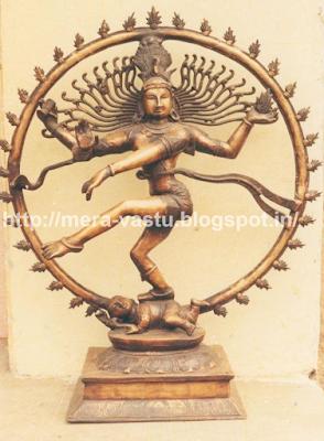 नटराज भगवान शिव की एक बड़ी ही खूबसूरत प्रतीकात्मक मूर्ति है परंतु यह एक विध्वंस का भी प्रतीक है। इसलिए ऐसी फोटो या मूर्ति घर मे बिलकुल भी न रखें।