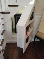 Ideas para ahorrar espacio debajo de la escalera caja fuerte