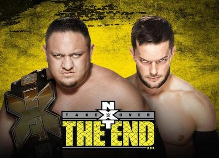 WWE NXT TakeOver The End 08 June 2016