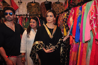 Bollywood Actress Sana Khan Launches Aakrithi Exibition  0362.JPG