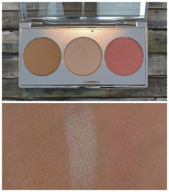 Rival de Loop Young shade & shine LE illuminating Kit Swatches