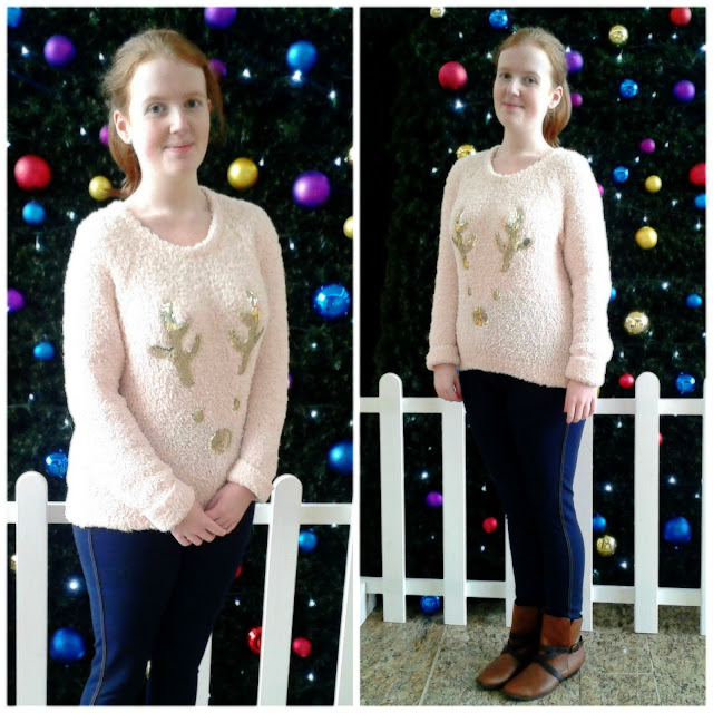 New Look Christmas Jumper Reindeer