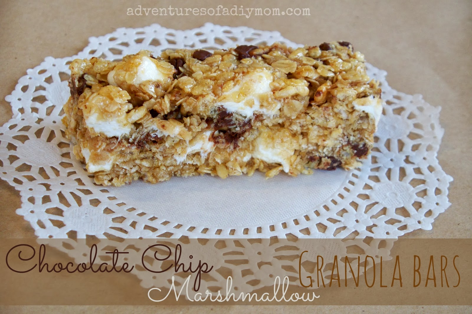 Chocolate Marshmallow Granola Bar