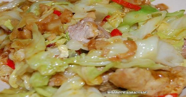Chicken Cabbage Curry Recipe