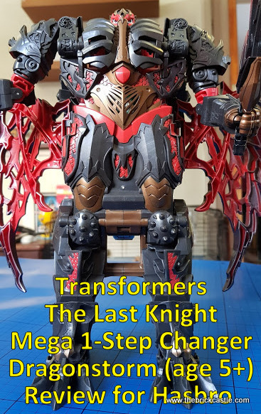 Transformers: The Last Knight Mega 1-Step Changer Dragonstorm Review