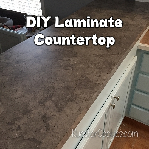 My DIY laminate countertop